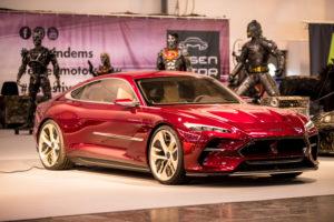 DaVinci Gran Turismo mit Elektroantrieb auf Essen Motor Show