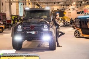 Edel-Tuner Brabus kommt mit kraftvollem Geländewagen zur Essen Motor Show