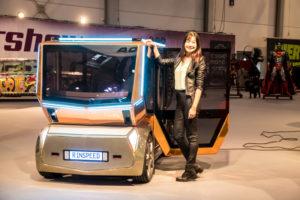 Rinspeed präsentiert zukunftsweisendes Elektromobil auf Essen Motor Show