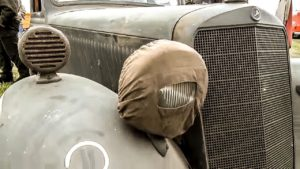 Scheunenfund Wehrmacht – Wehrmachtsfahrzeuge auf dem Oldtimertreffen