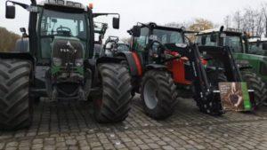 TraktorDemo DORTMUND 25.11.2019 – Trecker stellen sich auf